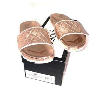 J/Slides rose gold metallic slip-on discontinued!